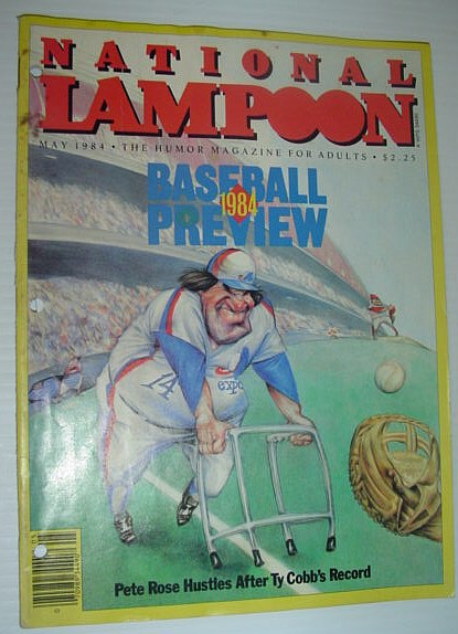 Image for National Lampoon - The Humor Magazine For Adults: May, 1984 *1984 BASEBALL PREVIEW*
