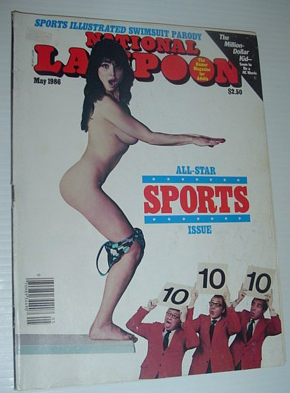 Image for National Lampoon, May 1986 *ALL-STAR SPORTS ISSUE*