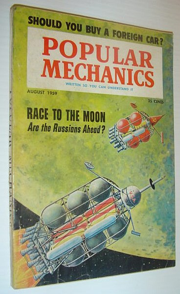 Image for Popular Mechanics, August 1959