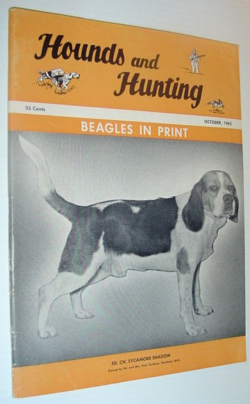 Image for Hounds and Hunting Magazine - October 1962