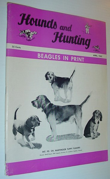 Image for Hounds and Hunting Magazine - April 1963