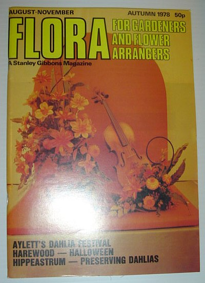 Image for Flora Magazine - For Flower Arrangers and Gardeners: Autumn 1978