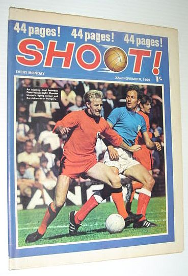 Image for SHOOT! Soccer/Football Magazine, 22 November 1969 *
