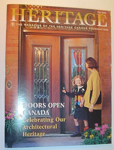 Image for Heritage, Fall 2002: The Magazine of the Heritage Canada Foundation