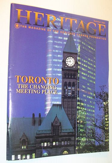 Image for Heritage, Summer 2001: The Magazine of the Heritage Canada Foundation