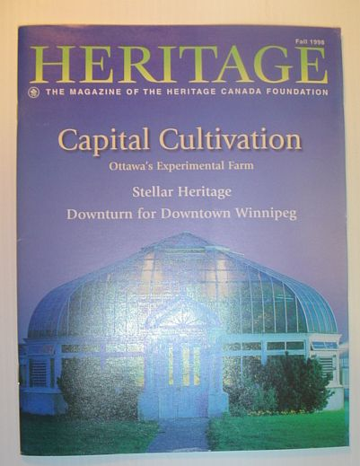 Image for Heritage, Fall 1998: The Magazine of the Heritage Canada Foundation