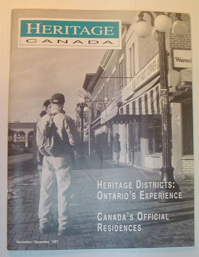 Image for Heritage, November/December 1997: The Magazine of the Heritage Canada Foundation