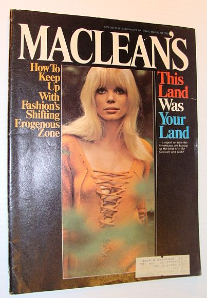 Image for Maclean's Magazine - October 1970