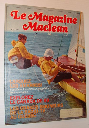 Image for Le Magazine Maclean, Avril 1969