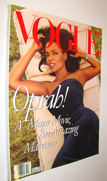 Image for Vogue Magazine, October 1998 - Oprah Cover Photo