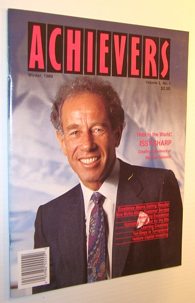 Image for Achievers Magazine, Winter 1989, Volume 3, No. 1 - Issy Sharp Cover Photo