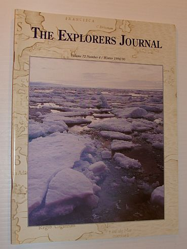 Image for The Explorer's Journal, Winter 1994/1995