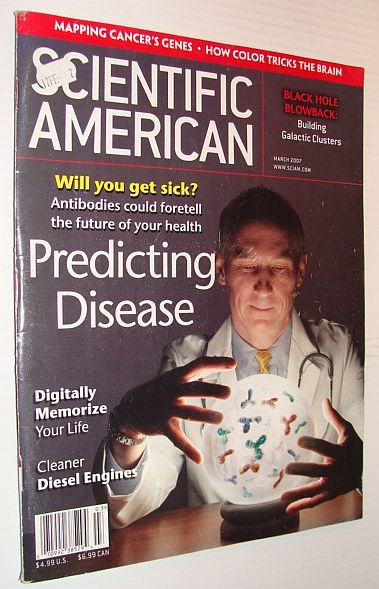 Image for Scientific American Magazine, March 2007