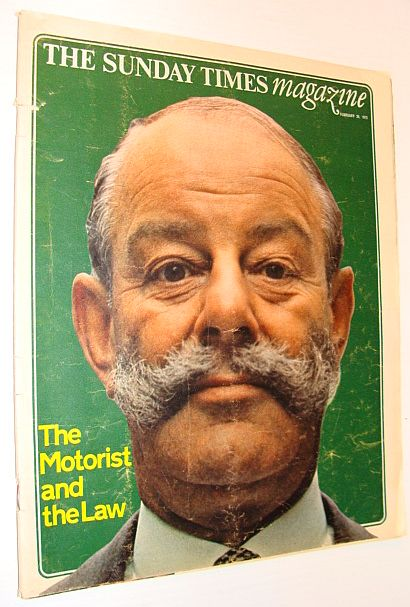 Image for The Sunday Times Magazine, 20 February 1972 *The Motorist and The Law*