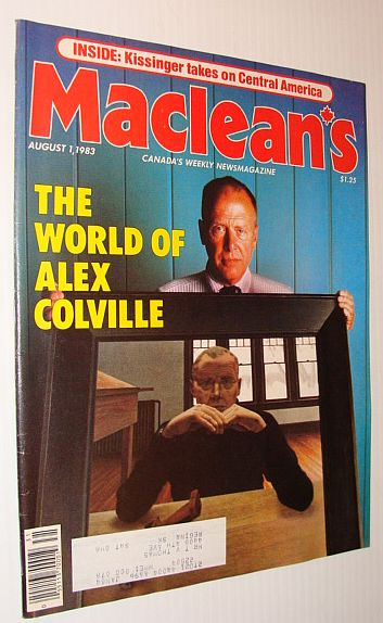 Image for Maclean's Magazine, August 1, 1983 *The World of Alex Colville*