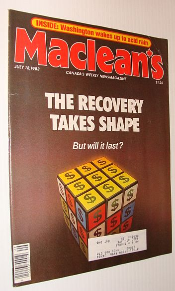 Image for Maclean's Magazine, July 18, 1983