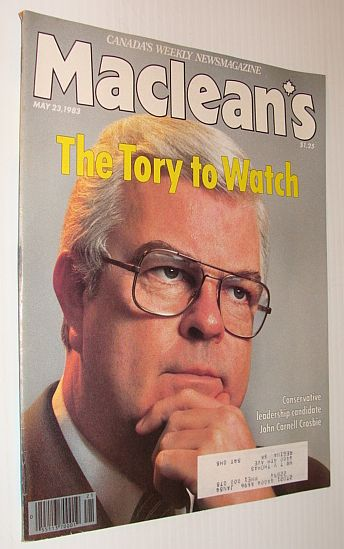 Image for Maclean's Magazine, 23 May 1983: John Crosbie - The Tory To Watch