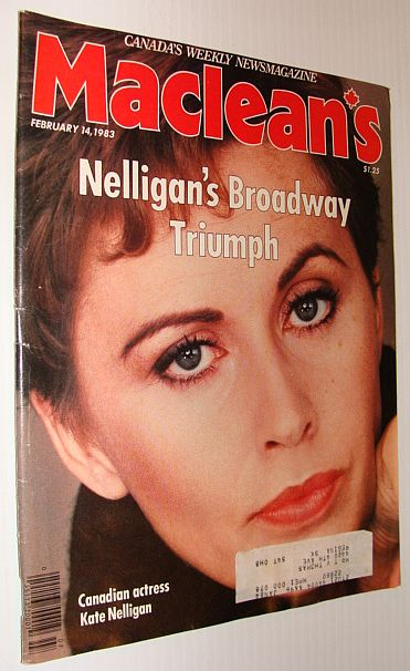 Image for Maclean's Magazine, February 14, 1983 - Kate Nelligan on Broadway