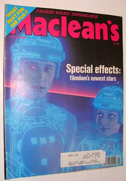 Image for Maclean's Magazine, July 19, 1982 - Special Effects - Newest Film Stars