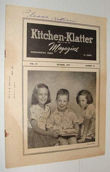Image for Kitchen-Klatter Magazine, October 1957