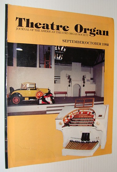 Image for Theatre Organ Magazine, September/October 1992