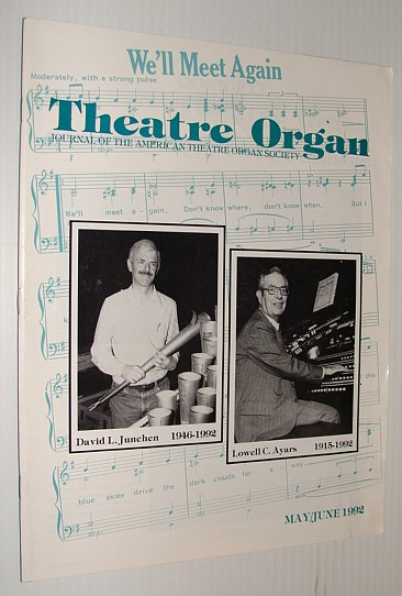 Image for Theatre Organ Magazine, May/June 1992