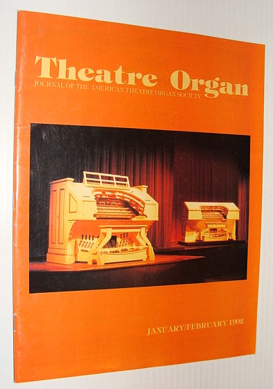 Image for Theatre Organ Magazine, January/February 1992