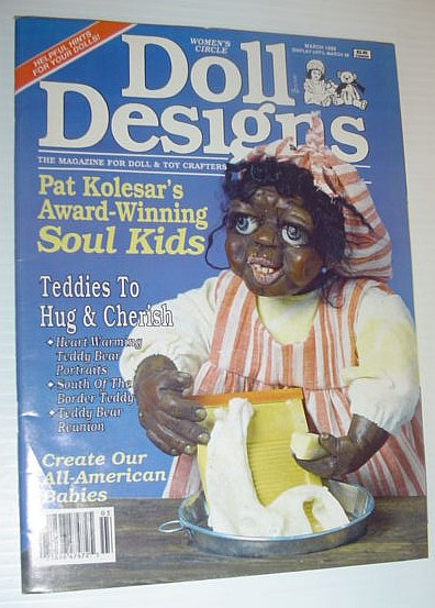 Image for Doll Designs Magazine, March 1989