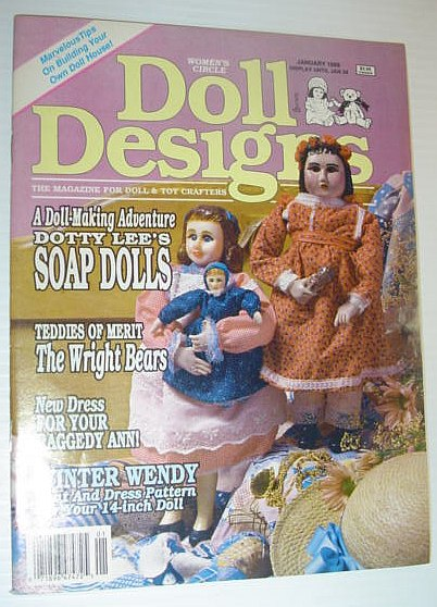 Image for Doll Design Magazine, January 1989