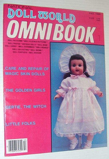 Image for National Doll World Omnibook, Fall 1986 *Care and Repair of Magic Skin Dolls / The Golden Girls / Gertie, The Witch*