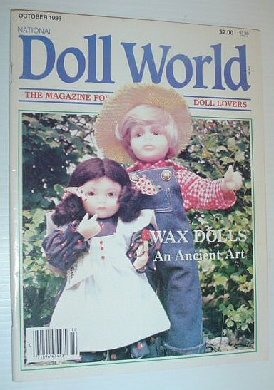 Image for National Doll World, October 1986 *WAX DOLLS - AN ANCIENT ART*