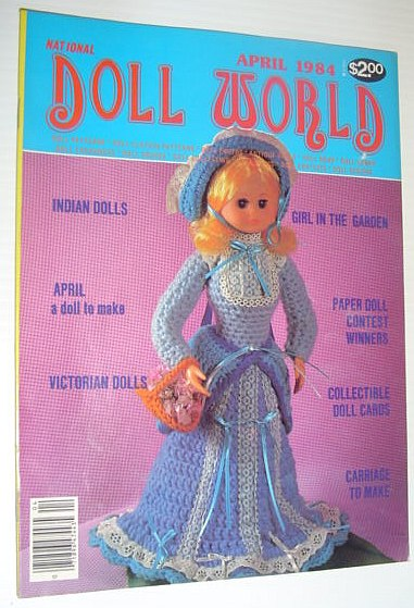 Image for National Doll World, April 1984