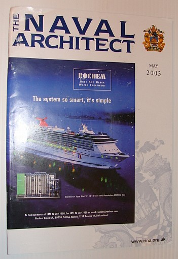 Image for The Naval Architect, May 2003