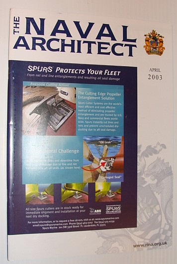 Image for The Naval Architect, April 2003