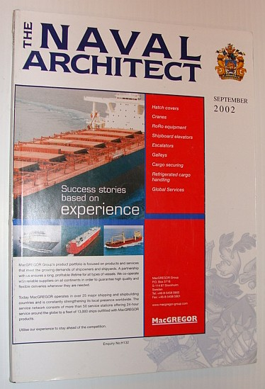 Image for The Naval Architect, September 2002