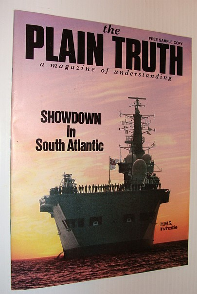 Image for The Plain Truth Magazine, July 1982 *Falklands Showdown*