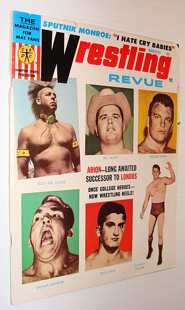 Image for Wrestling Revue Magazine, March 1967