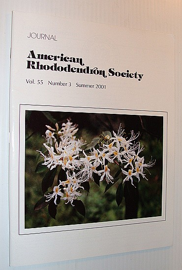 Image for Journal of the American Rhododendron Society, Vol. 55 Number 3 Summer 2001