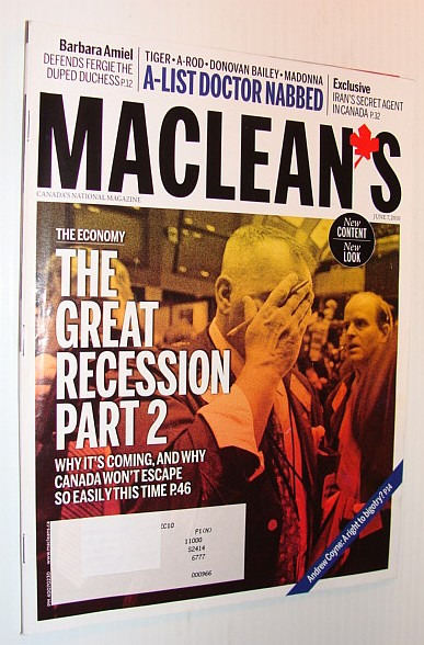 Image for Maclean's Magazine, June 7, 2010 *The Great Depression, Part 2*