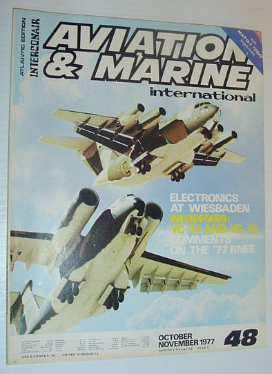 Image for Aviation and Marine International - Atlantic Edition: October/November 1977 *YC-14 AND YC-15*