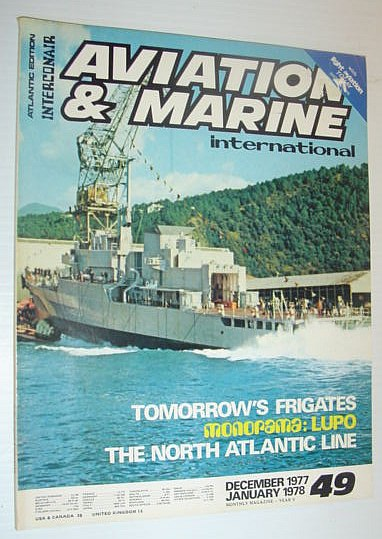 Image for Aviation and Marine International - Atlantic Edition: December 1977/January 1978 *MONORAMA - LUPO*