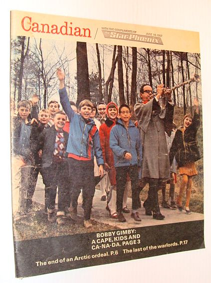 "Image for Canadian Magazine, June 10, 1967, Volume 3, Number 23 - Bobby Gimby ""Pied-Piper"" Cover Photo"