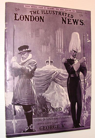 Image for The Illustrated London News, 1 February 1936 - Record of the Lying-in-State and Funeral of His Late Majesty King George V