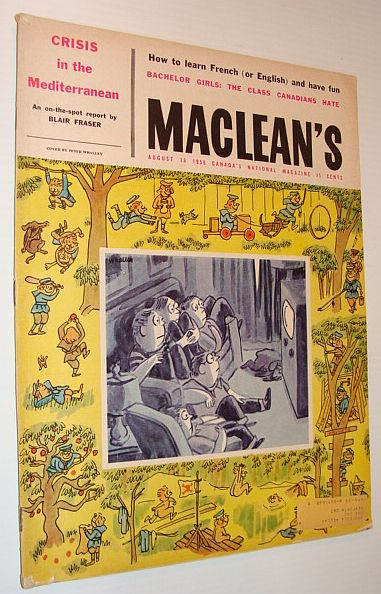 Image for Maclean's Magazine, 16 August 1958