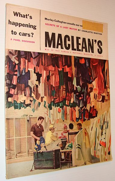 Image for Maclean's Magazine, May 25 1957