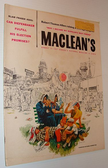 Image for Maclean's Magazine, August 31 1957 - Tear Down Our Mental Hospitals?