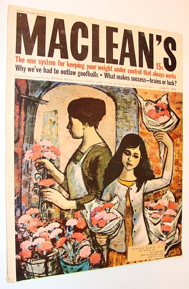 Image for Maclean's Magazine, 15 July 1961