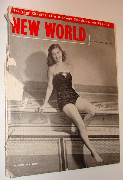 Image for New World Magazine, June 1947 *Cover Photo of Barbara Ann Scott*