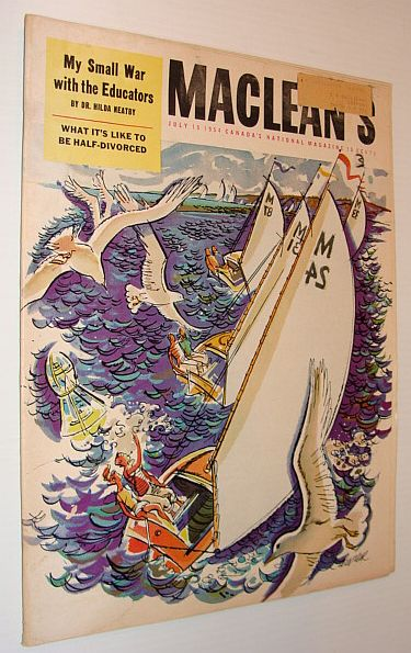 Image for Maclean's Magazine, July 15, 1954