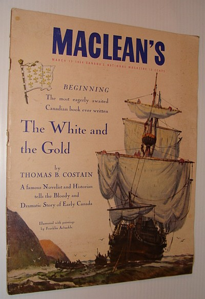 Image for Maclean's Magazine, March 15 1954